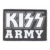 KISS PATCH ARMY BLOCK - Skateboards Amsterdam - 1