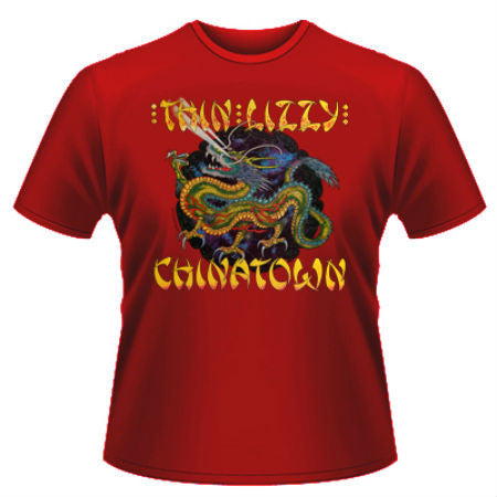 THIN LIZZY CHINATOWN T-SHIRT - Skateboards Amsterdam - 1