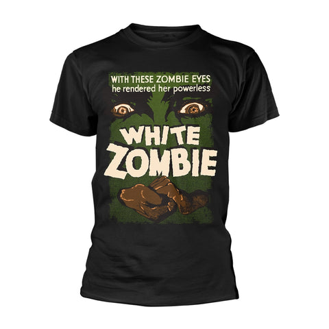 PLAN 9 WHITE ZOMBIE POSTER T-SHIRT
