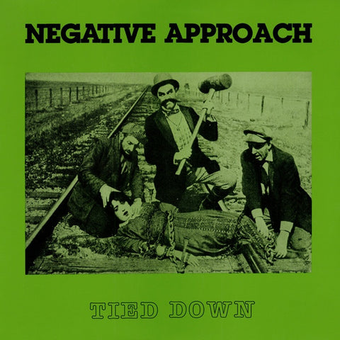 Negative Approach - Tied Down LP - Skateboards Amsterdam
