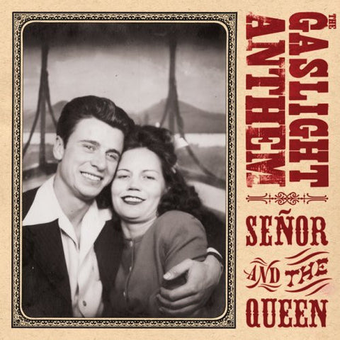 Gaslight Anthem-Senor And The Queen 10 Inch Blue Vinyl - Skateboards Amsterdam