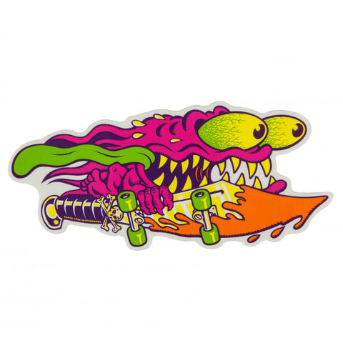 SANTA CRUZ SLASHER COLOUR STICKER 6 INCH