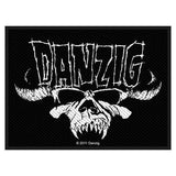 DANZIG SEW ON PATCH CLASSIC SKULL - Skateboards Amsterdam - 2