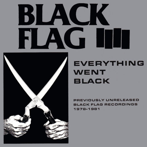 Black Flag-Everything Went Black - Skateboards Amsterdam