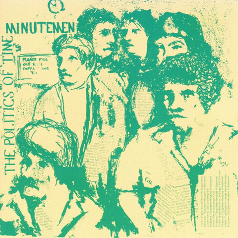 Minutemen-Politics Of Time - Skateboards Amsterdam