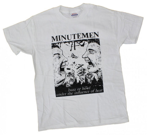 MINUTEMEN BUZZ OR HOWL T-SHIRT WHITE - Skateboards Amsterdam