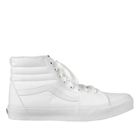 VANS SK8-HI TRUE WHITE - Skateboards Amsterdam