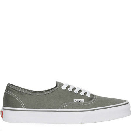 VANS AUTHENTIC STEEPLE GREY/TRUE WHITE - Skateboards Amsterdam - 1