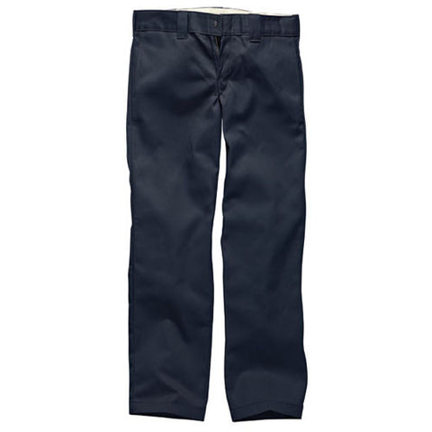 DICKIES WP873 SLIM STRAIGHT WORK PANT DARK NAVY - Skateboards Amsterdam