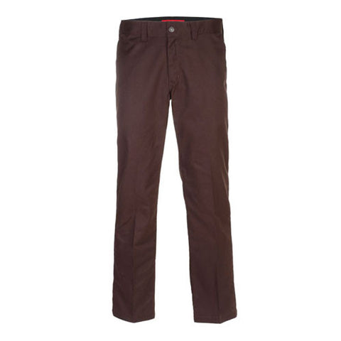 DICKIES WP894 INDUSTRIAL WORK PANT CHOCOLATE BROWN - Skateboards Amsterdam