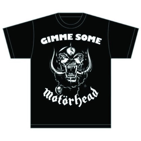MOTORHEAD GIMME SOME T-SHIRT BLACK - Skateboards Amsterdam - 1
