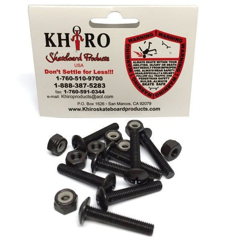 KHIRO PANHEAD NUTS AND BOLTS 1 .75 INCH