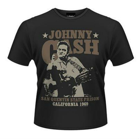 JOHNNY CASH OUTLAW T-SHIRT BLACK - Skateboards Amsterdam - 1