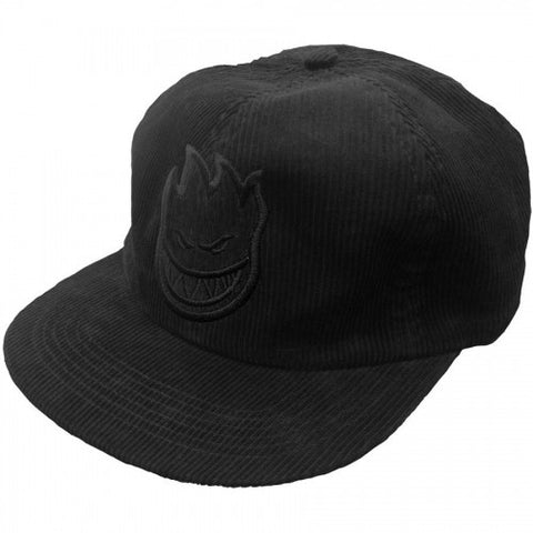 SPITFIRE 6 PANEL UNCONSTRUCTED BLACK CORD - Skateboards Amsterdam