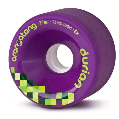 ORANGATANG DURIAN PURPLE 75MM 83A - Skateboards Amsterdam - 1