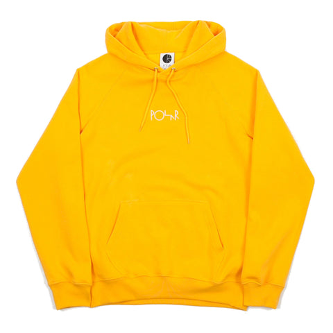 POLAR DEFAULT HOODED SWEATER YELLOW