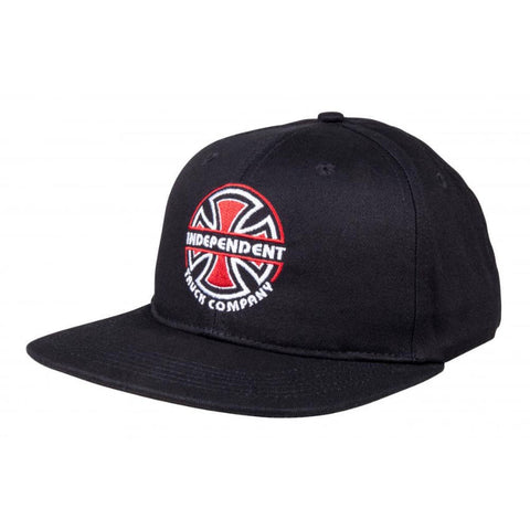 INDEPENDENT ITC BAUHAUS CAP BLACK