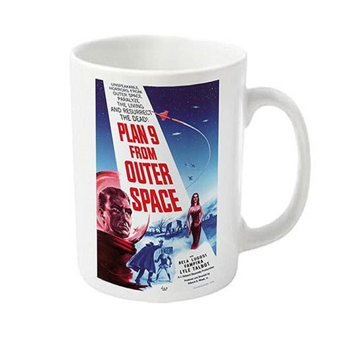 PLAN 9 FROM OUTER SPACE BOXED MUG