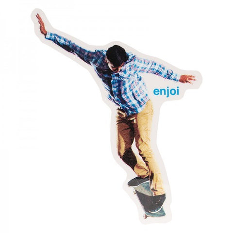 ENJOI SK8 OR DIE STICKER ROJO
