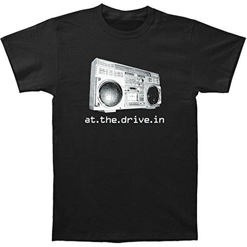AT THE DRIVE-IN BOOMBOX T-SHIRT BLACK - Skateboards Amsterdam