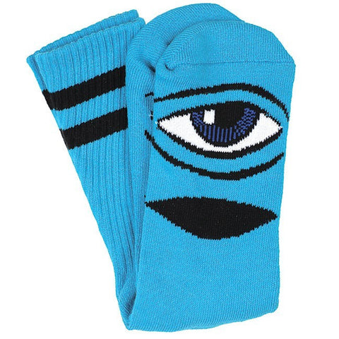 TOY MACHINE SECT EYE III SOCK TURQUOISE - Skateboards Amsterdam