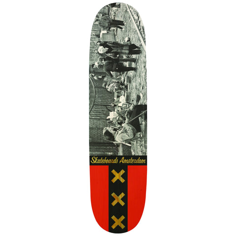 IO SKATEBOARDS AMSTERDAM 1980 #2 8.25
