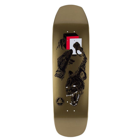 "WELCOME FACE OF A LOVER GOLD DIP 9.0"" - Skateboards Amsterdam"