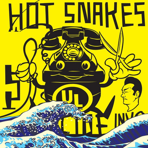 Hot Snakes-Suicide Invoice -Yellow-