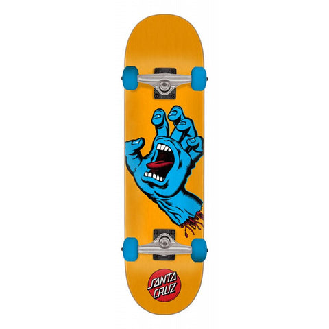 SANTA CRUZ SCREAMING HAND ORANGE/BLUE COMPLETE 7.5