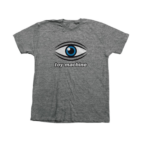 TOY MACHINE EYE T-SHIRT GRAPHITE