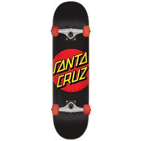 SANTA CRUZ CLASSIC DOT COMPLETE BLACK/RED 6.75