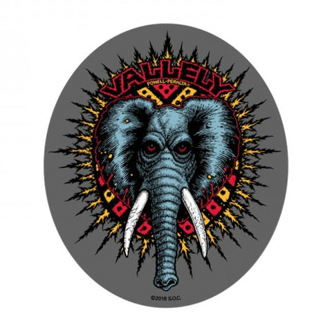 POWELL MIKE VALLELY ELEPHANT STICKER