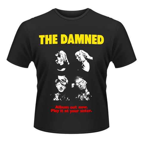 DAMNED YOUR SISTER T-SHIRT - Skateboards Amsterdam