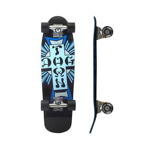 DOGTOWN CROSS LOGO MINI CRUISER COMPLETE 7.625""