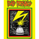 BAD BRAINS-1ST ALBUM COVER YELLOW T-SHIRT - Skateboards Amsterdam - 2