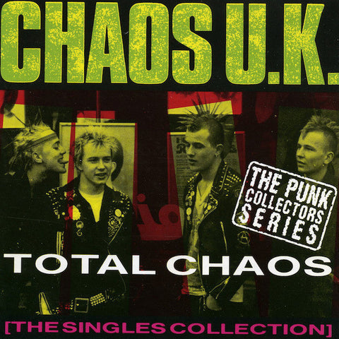 Chaos UK-Total Chaos, The Singles Collection - Skateboards Amsterdam