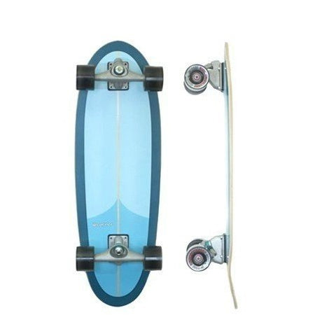 "CARVER EGGBEATER 30"" COMPLETE W/C7-6.5 RAW TRUCKS"