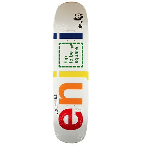 ENJOI HIP TO BE SQUARE 8.375 - Skateboards Amsterdam