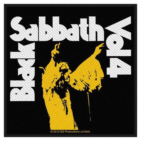 BLACK SABBATH SEW ON PATCH VOL. 4 - Skateboards Amsterdam - 1