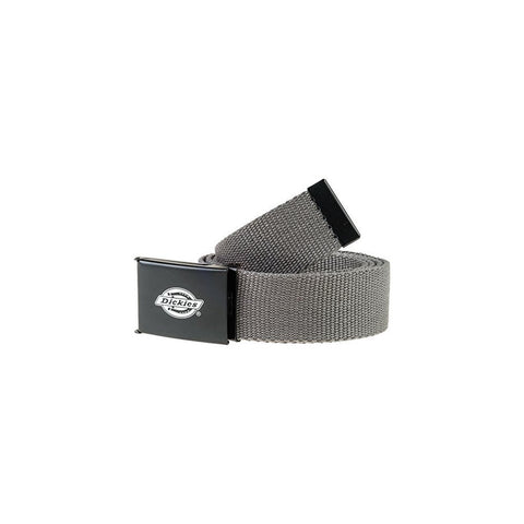 DICKIES ORCUTT WEB BELT CHARCOAL - Skateboards Amsterdam
