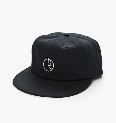 POLAR CANVAS CAP BLACK