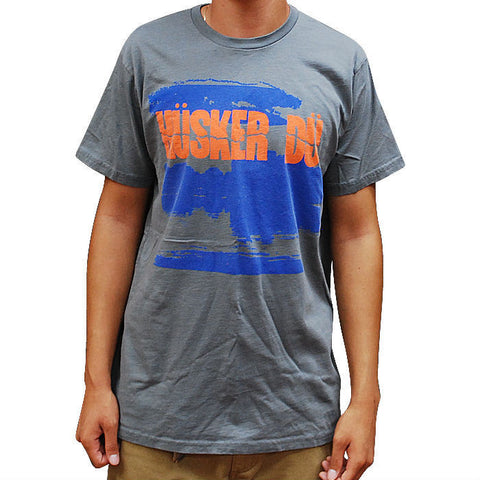 HUSKER DU NEW DAY RISING T-SHIRT GREY - Skateboards Amsterdam