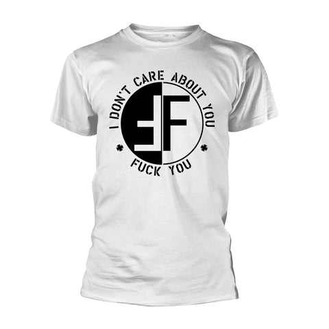 FEAR I DON'T CARE ABOUT YOU T-SHIRT WHITE