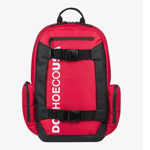 DC CHALKERS SKATE BACKPACK RACING RED