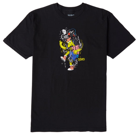 ZERO SPRINGFIELD MASSACRE T-SHIRT BLACK