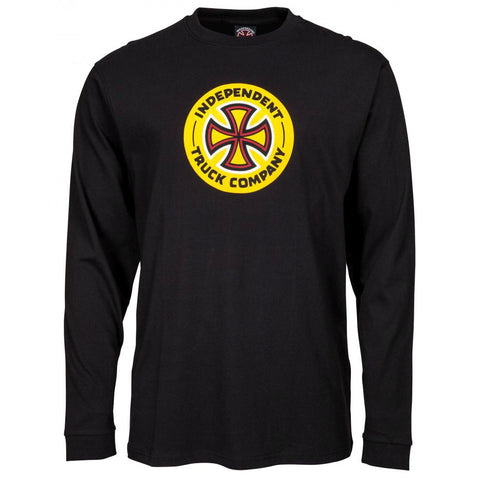 INDEPENDENT COMBO TC LONGSLEEVE BLACK