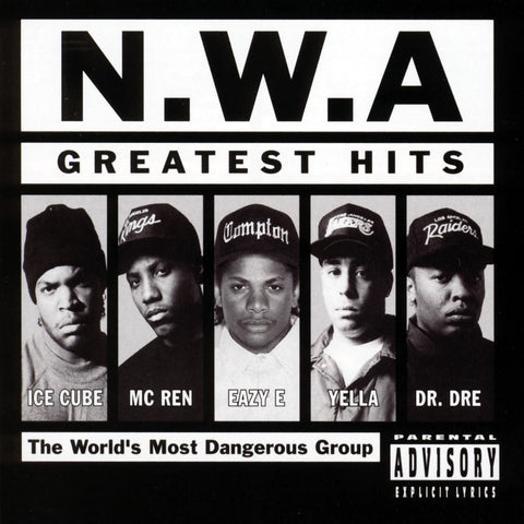 NWA-Greatest Hits + 2 - Skateboards Amsterdam