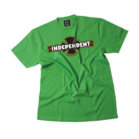 INDEPENDENT PAINTED OGBC T-SHIRT KELLY GREEN - Skateboards Amsterdam