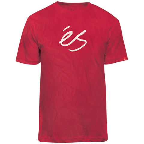 ES MID SCRIPT TECH T-SHIRT RED