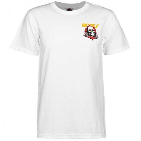 POWELL PERALTA RIPPER T-SHIRT WHITE - Skateboards Amsterdam - 1